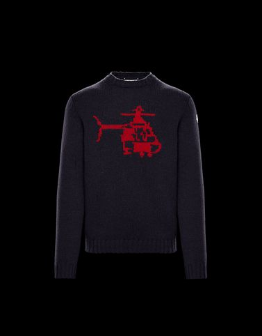MONCLER PULL COL ROND - Pulls à col ras du cou - homme
