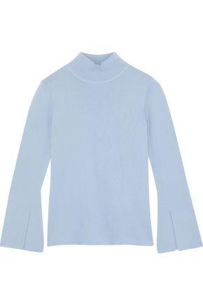 IRIS & INK ウール タートルネックセーター