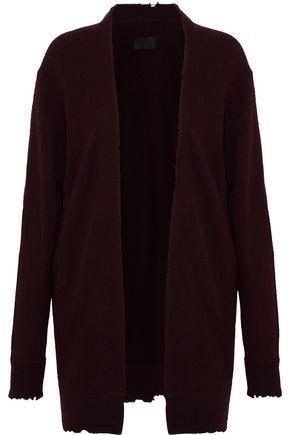 RTA Frayed cashmere cardigan