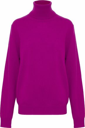 CHALAYAN Sliced cashmere turtleneck sweater