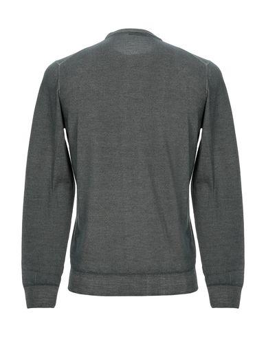 Фото 2 - Мужской свитер DRUMOHR цвет зеленый-милитари