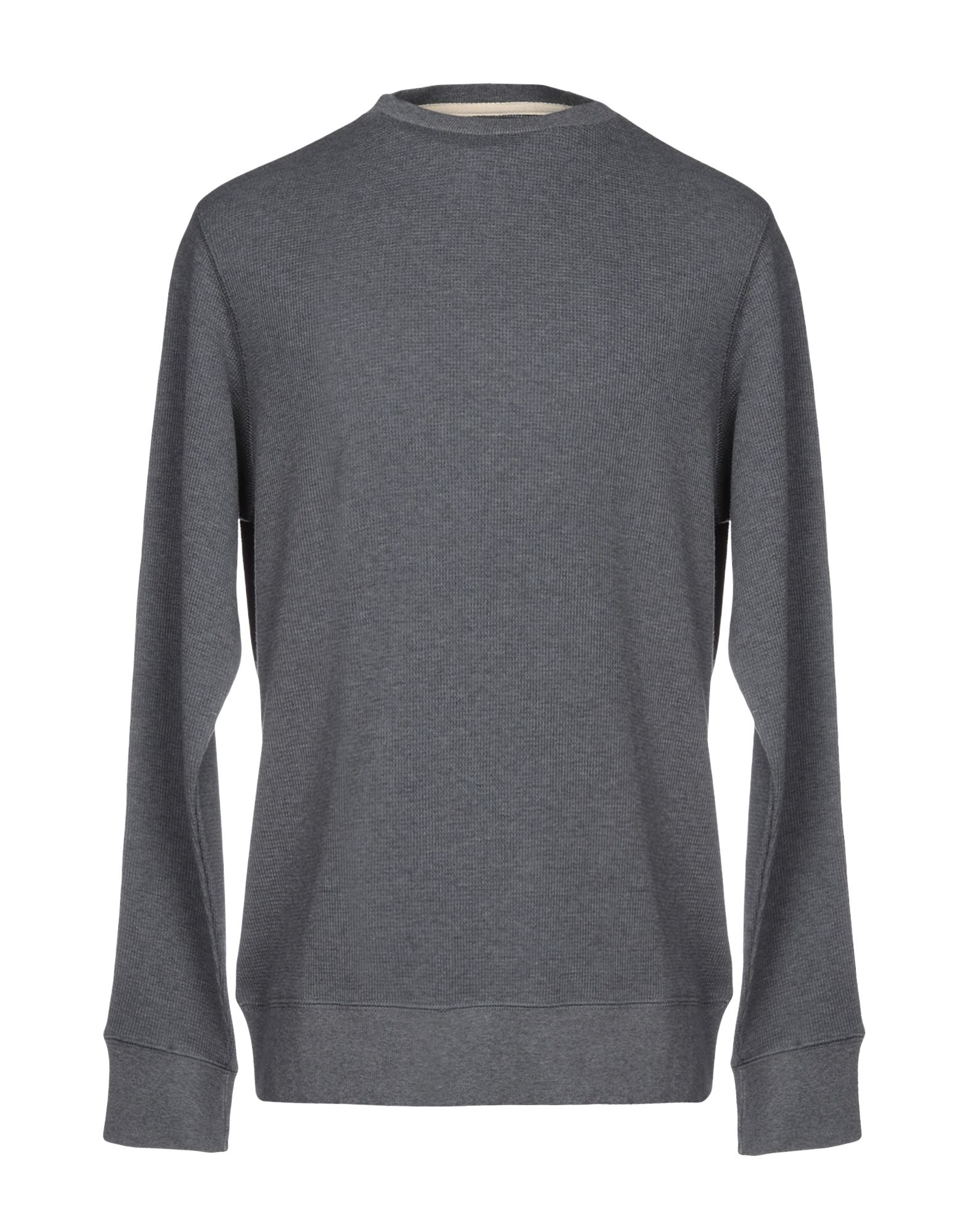 《期間限定セール開催中!》DOPPIAA メンズ スウェットシャツ グレー M コットン 100%
