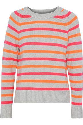 CHINTI AND PARKER Striped intarsia cashmere sweater