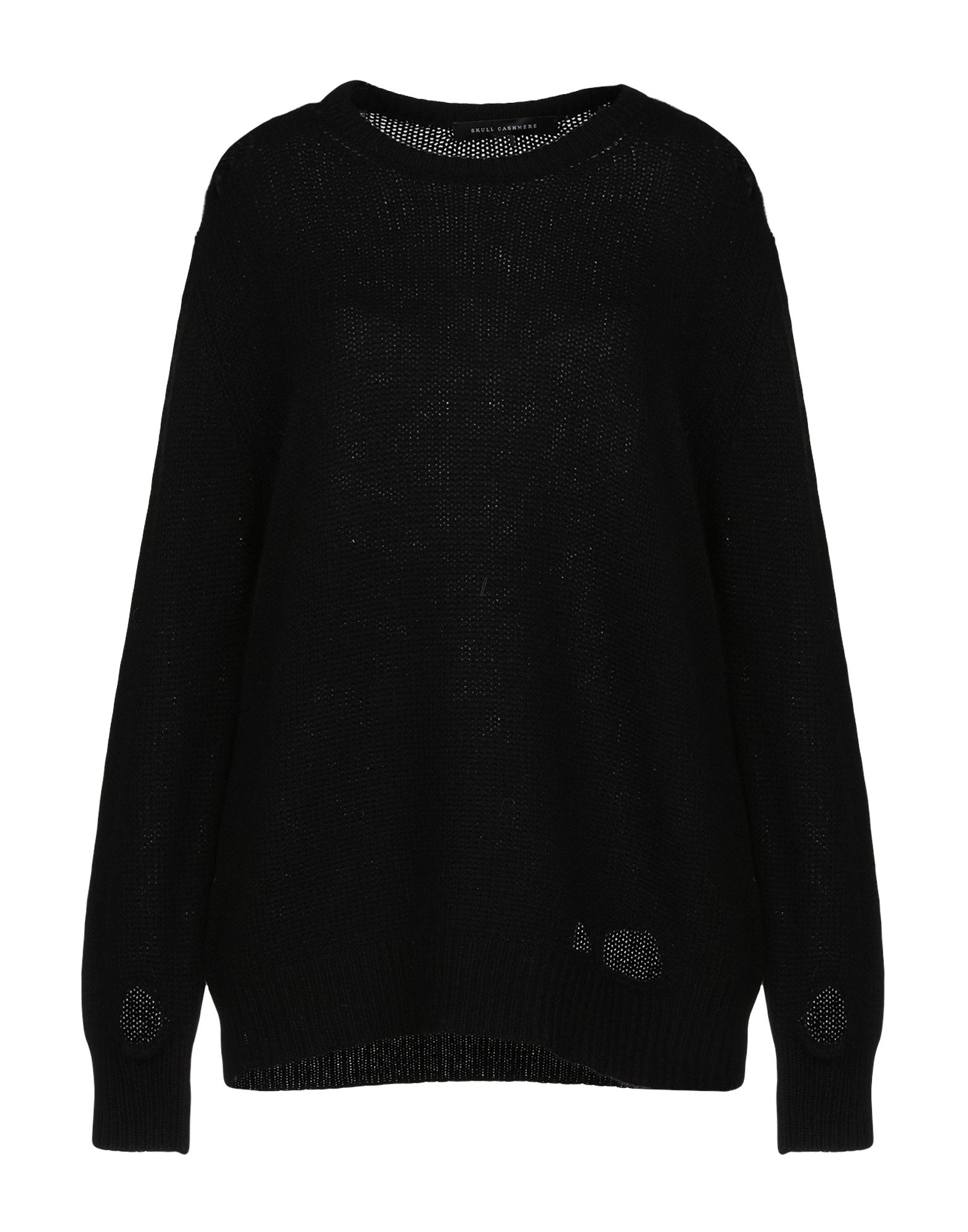 SKULL CASHMERE Sweaters in Black