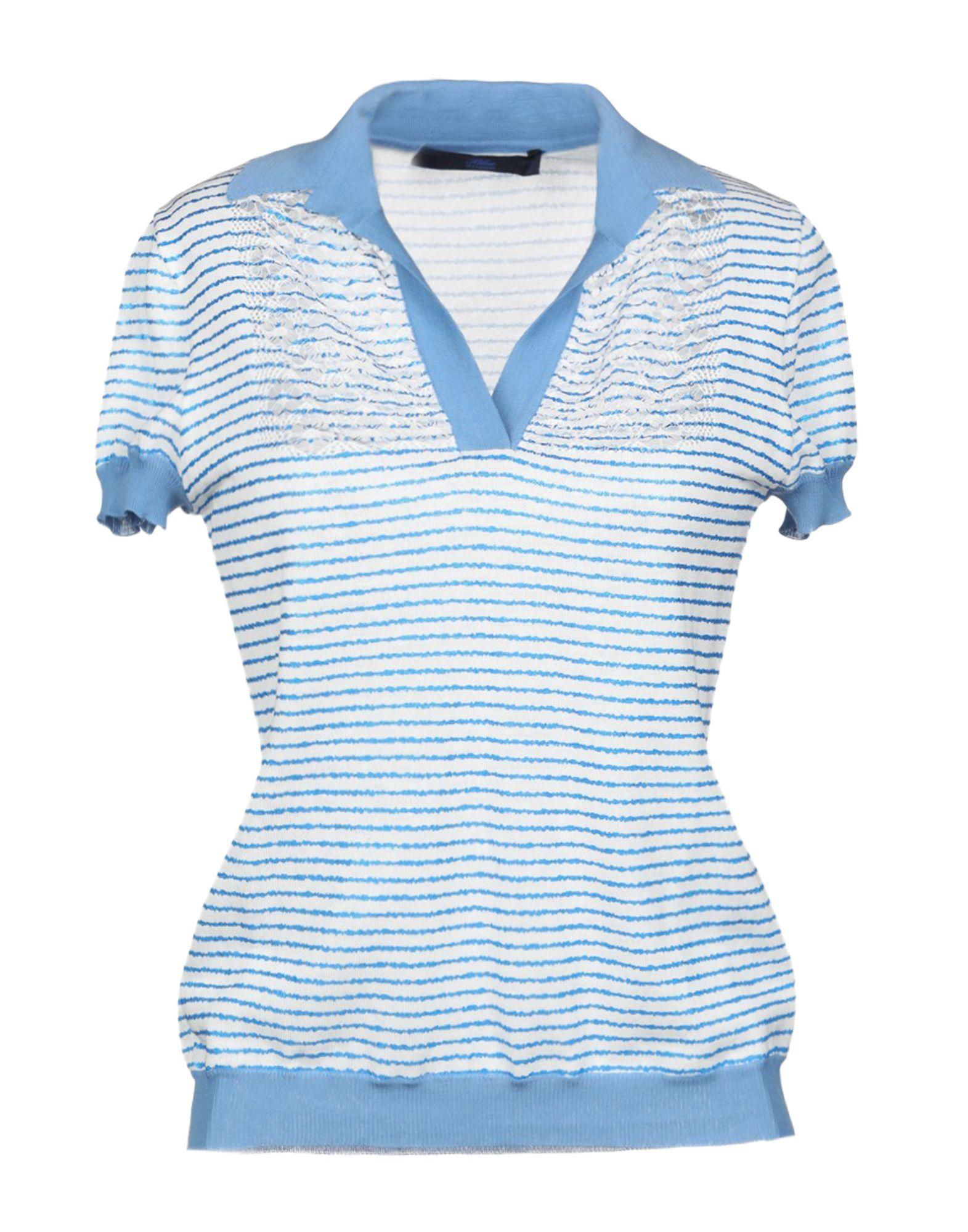 BLUE LES COPAINS Свитер blue les copains свитер с короткими рукавами