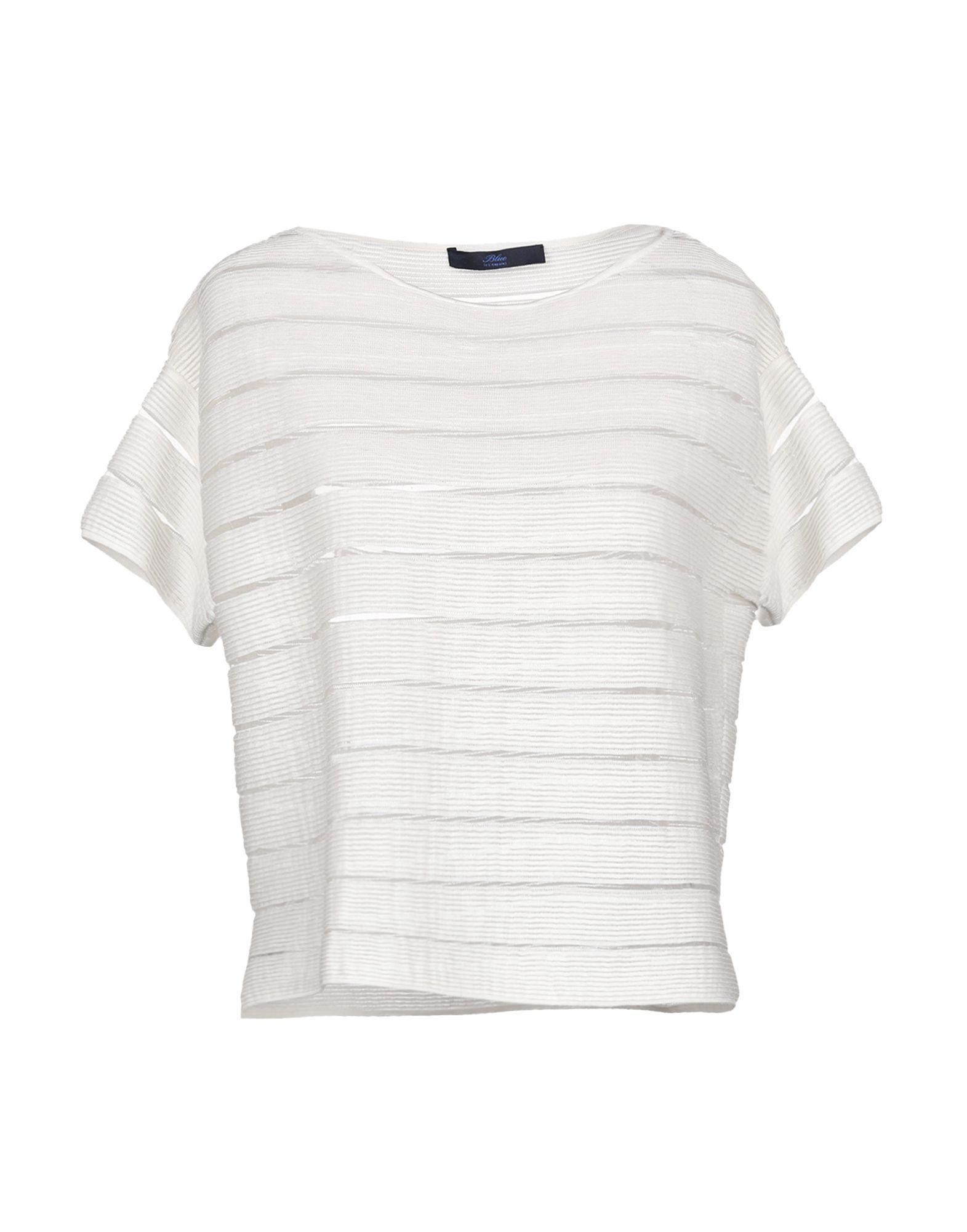 BLUE LES COPAINS Блузка les blanc блузка