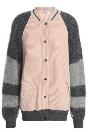 BRUNELLO CUCINELLI Bead-embellishe cashmere cardigan