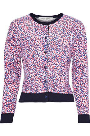 CAROLINA HERRERA Polka-dot wool cardigan