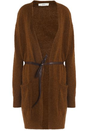 VANESSA BRUNO ATHE' Helora belted knitted cardigan