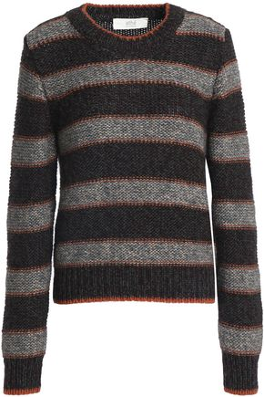 VANESSA BRUNO ATHE' Striped knitted sweater