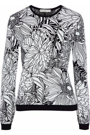 MARY KATRANTZOU Paint By Numbers intarsia-knit sweater