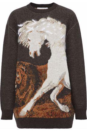 STELLA McCARTNEY Wool-jacquard sweater