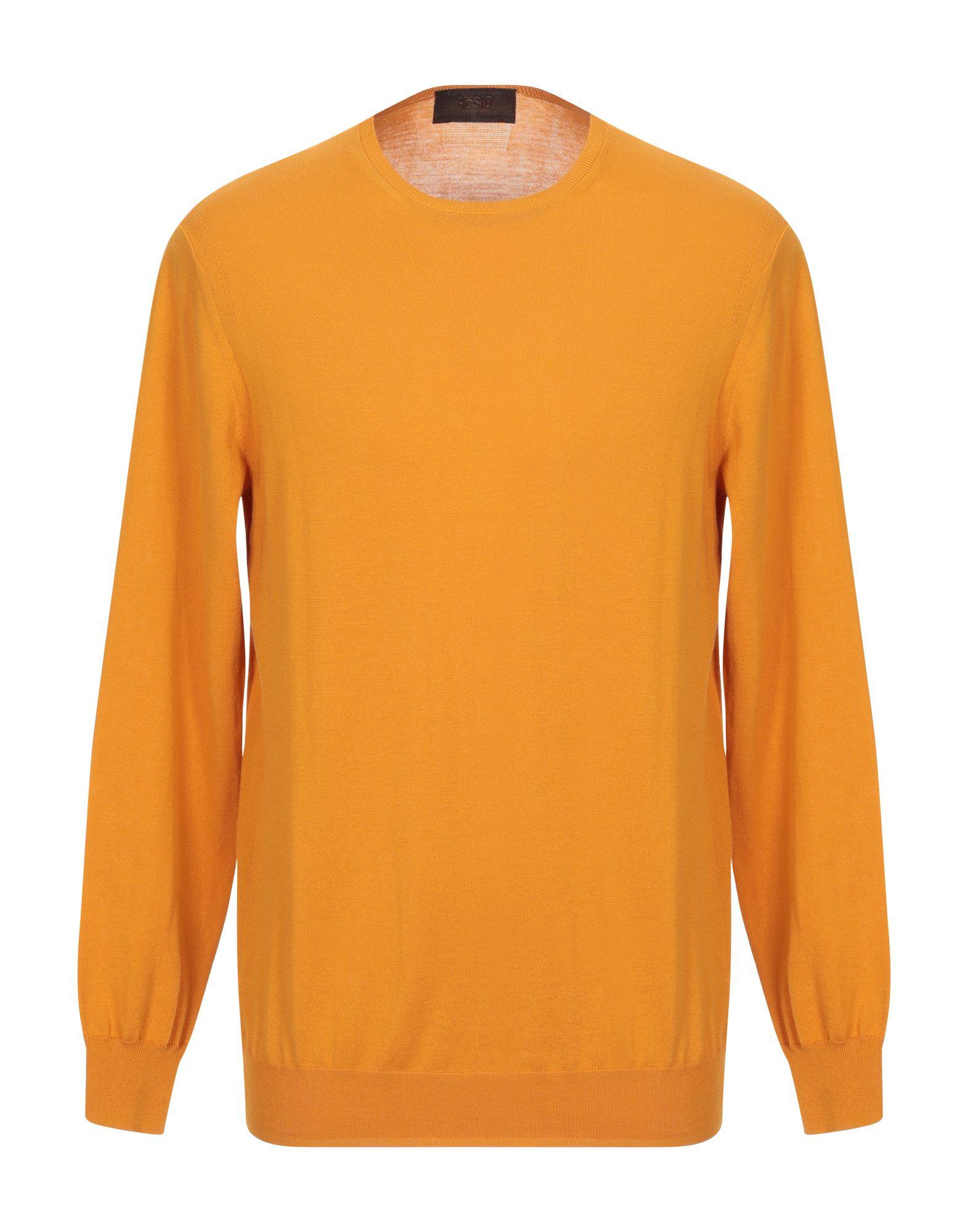 《セール開催中》H?SIO メンズ プルオーバー オレンジ XL コットン 100%
