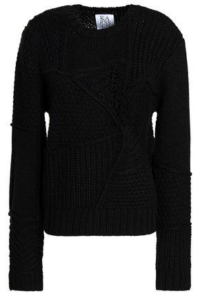 ZOE KARSSEN Open-knit sweater
