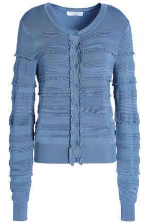 SANDRO Jacquard-knit cardigan