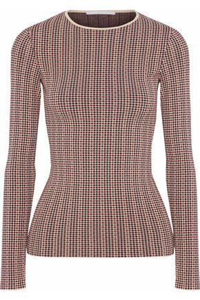STELLA McCARTNEY Jacquard-knit top