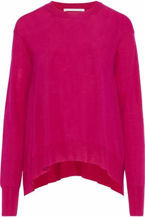 STELLA McCARTNEY Draped wool sweater