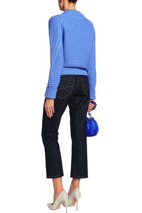 MARY KATRANTZOU Cable-knit wool sweater