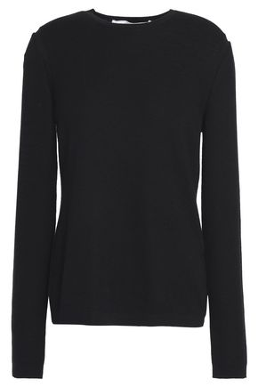 CAROLINA HERRERA Cashmere and silk-blend sweater