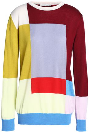 MARY KATRANTZOU Intarsia wool sweater