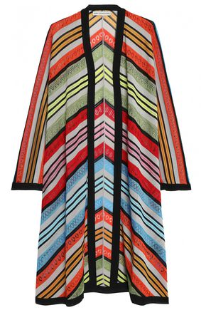MARY KATRANTZOU Pointelle-knit cardigan