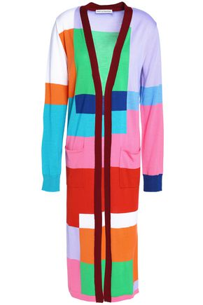 MARY KATRANTZOU Intarsia wool cardigan