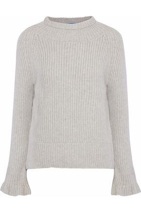 M.I.H JEANS Blake ribbed wool and cashmere-blend sweater
