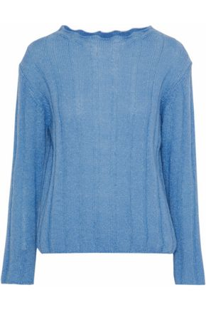 M.I.H JEANS Carolee ribbed mohair-blend sweater