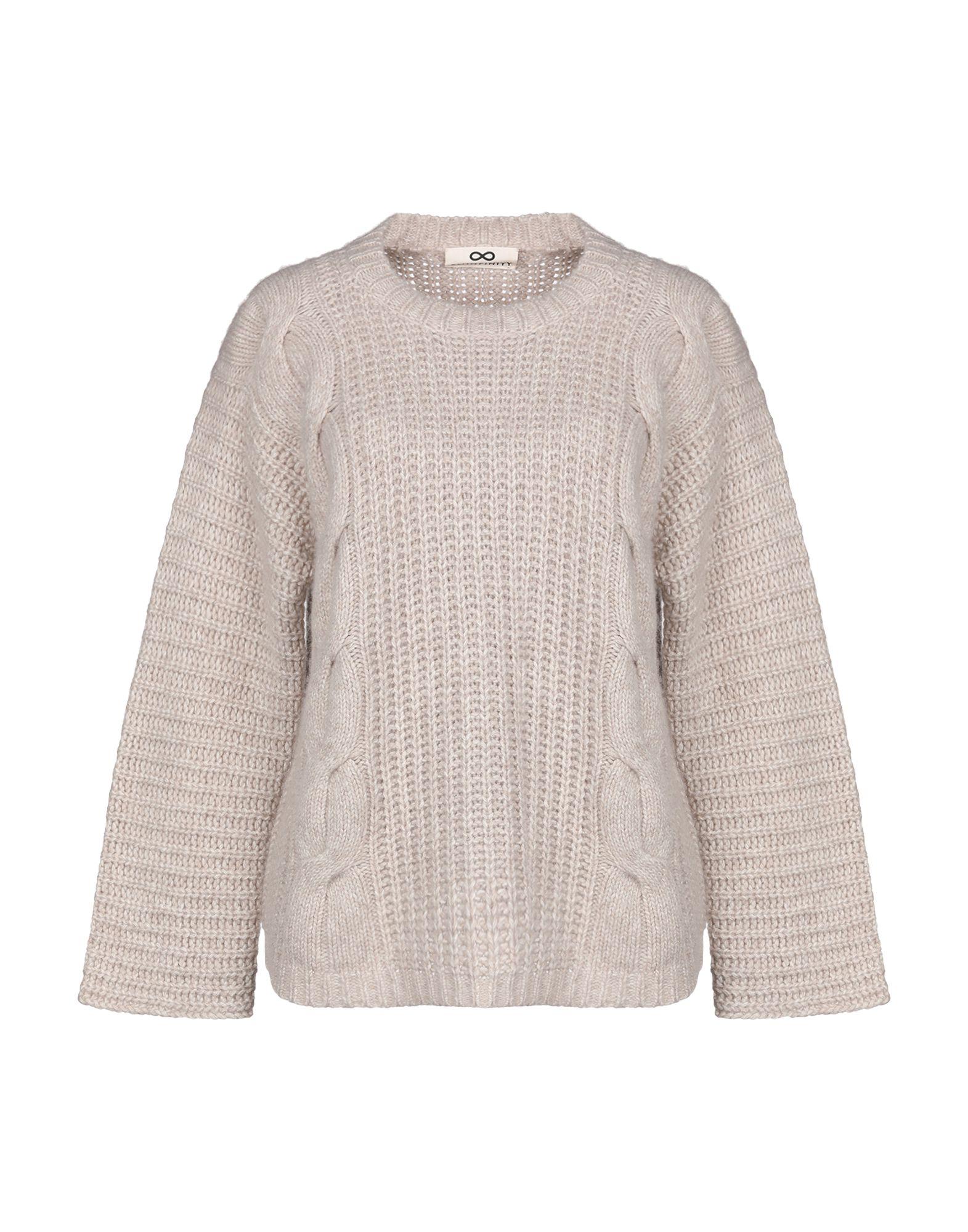 SMINFINITY Sweaters in Neutrals