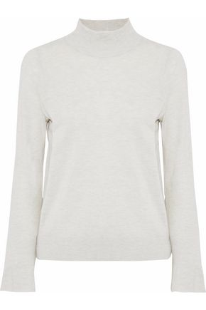 JOIE Deryn mélange wool and silk-blend sweater