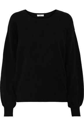 JOIE Airic split-back wool and cashmere-blend sweater