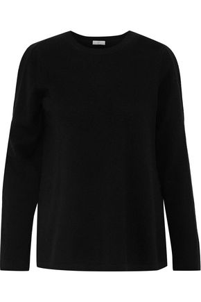 JOIE Amalyn cold-shoulder wool and cashmere-blend sweater