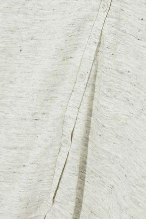 MAJESTIC FILATURES Marled stretch-linen cardigan