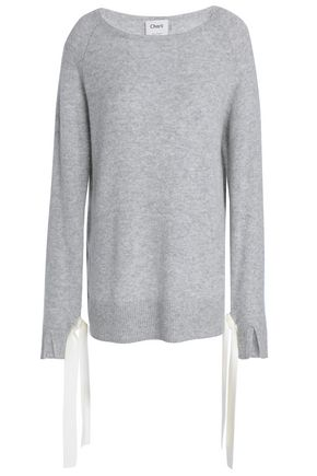CHARLI Tie-detailed cashmere sweater