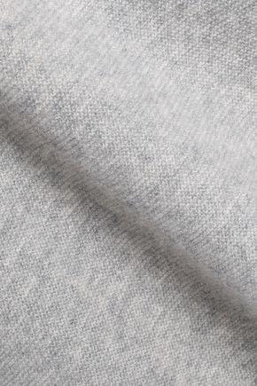 CHARLI Cold-shoulder cashmere sweater
