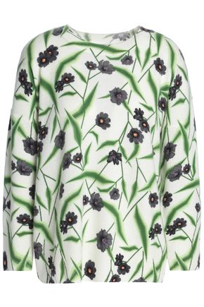 EQUIPMENT Melanie floral-print cashmere sweater