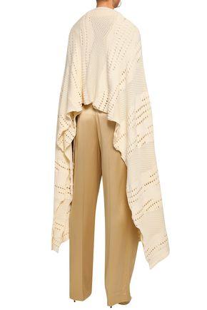 ESTEBAN CORTAZAR Pointelle-knit cotton-blend cardigan