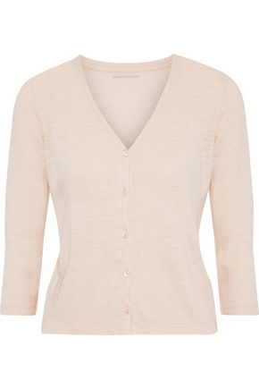 MAJESTIC FILATURES Stretch-linen cardigan