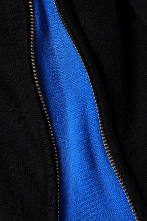 MAJE Stretch-knit cardigan