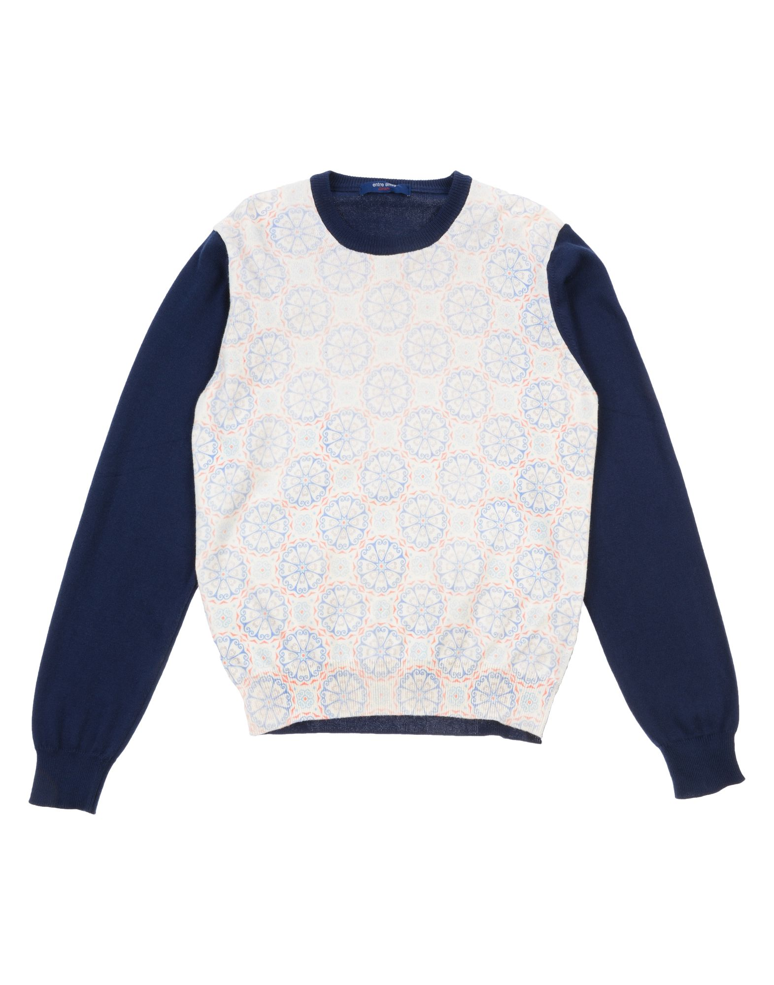 Entre Amis Garçon Kids' Sweaters In Dark Blue