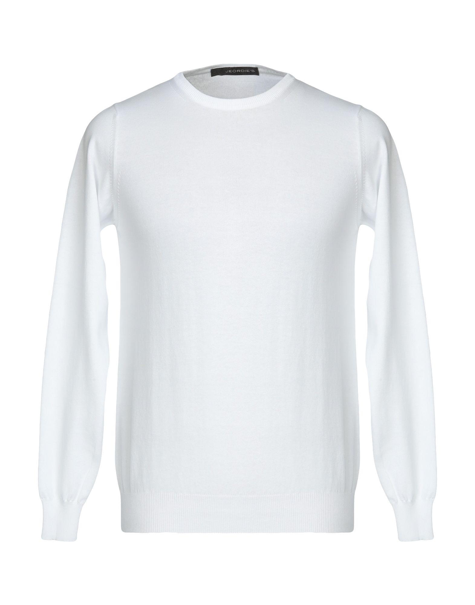 《セール開催中》JEORDIE'S メンズ プルオーバー ホワイト L コットン 100%