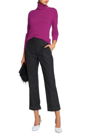 CHALAYAN Cutout cashmere turtleneck sweater