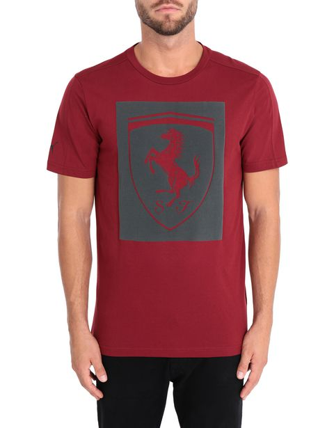 Men's short-sleeve Puma T-shirt with Shield