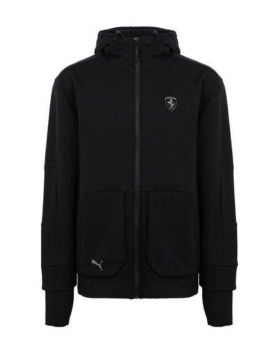 Scuderia Ferrari Online Store - Puma SF hooded sweatshirt for men - Zip Hood Jumpers