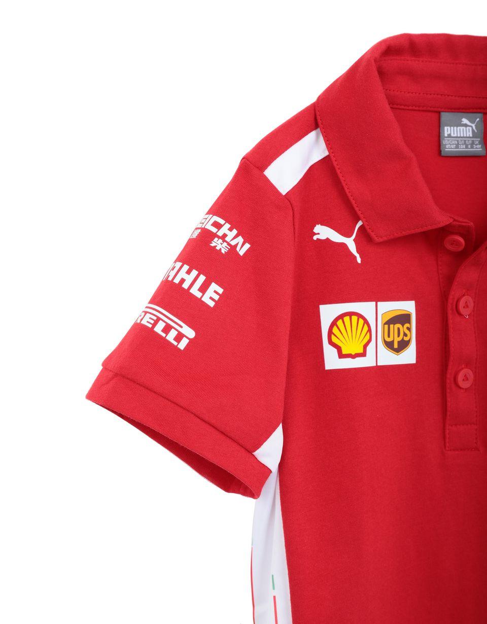 Scuderia Ferrari Online Store - Polo Scuderia Ferrari Replica 2018 para niño - Short Sleeve Polos