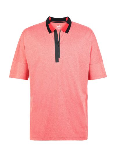 Scuderia Ferrari Online Store - Men's SF XX polo by Puma - Short Sleeve Polos