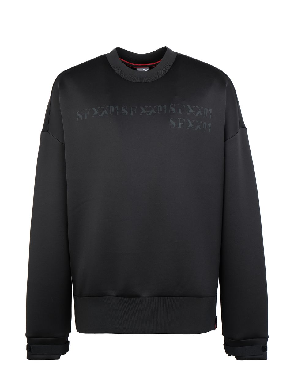Scuderia Ferrari Online Store - Men's Puma SF XX crewneck sweater - V-Neck Sweaters