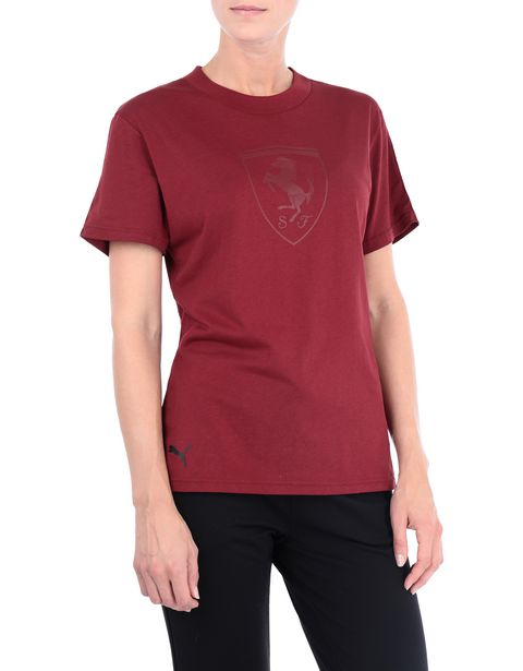 Puma short-sleeve T-shirt with Shield for women