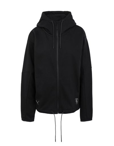 Scuderia Ferrari Online Store - Women's Puma SF hoodie - Zip Hood Sweaters
