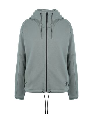 Scuderia Ferrari Online Store - Puma SF hooded sweatshirt for women - Zip Hood Jumpers